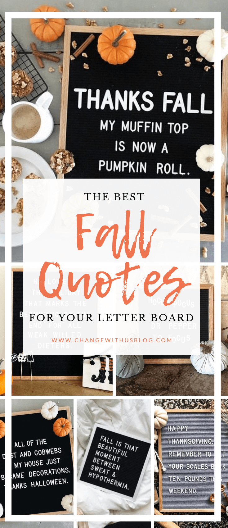 Best Fall Quotes For Your Letter Board Change With Us Blog